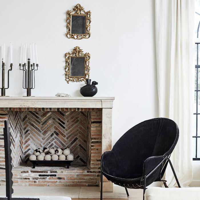 fireplace ideas—Nate Berkus and Jeremiah Brent
