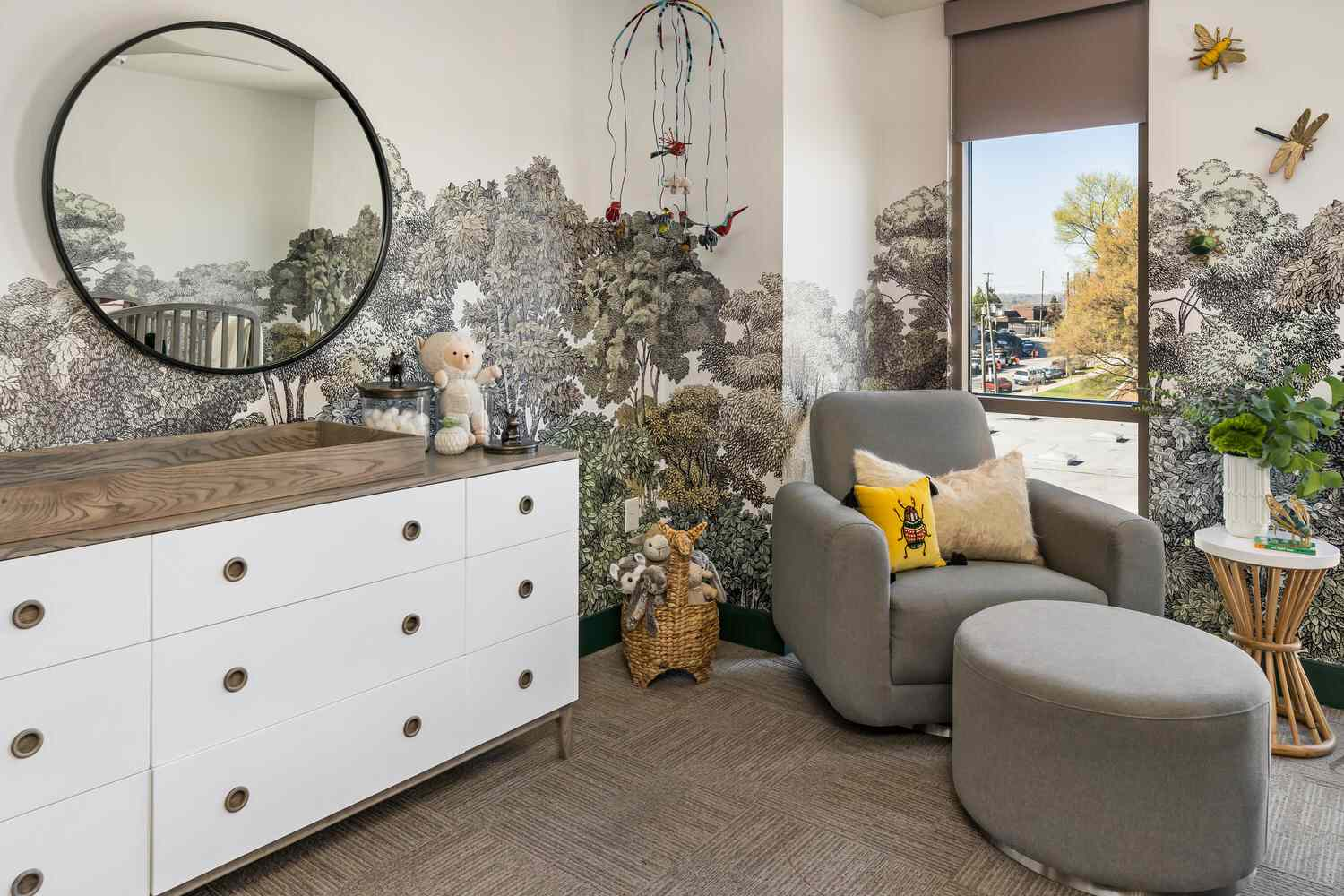 Where the Wild Things Are-inspired nursery