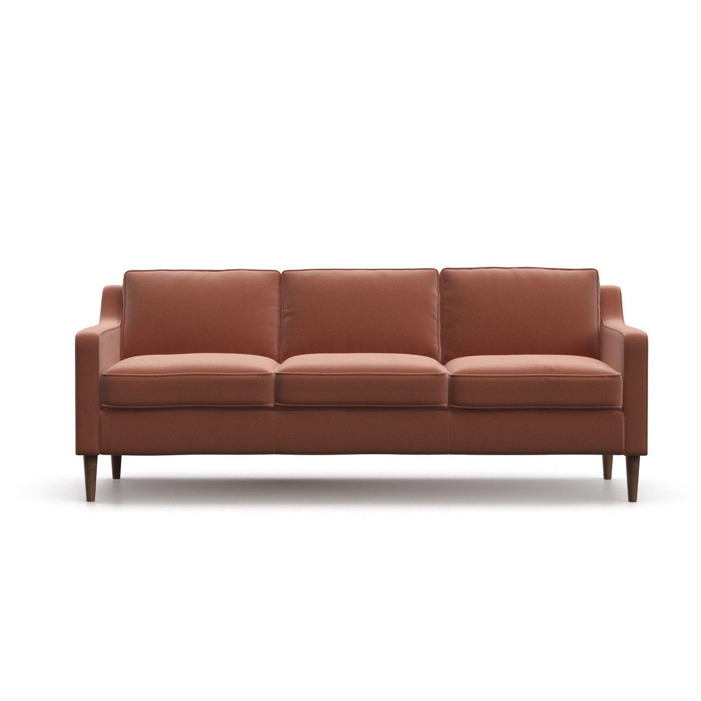 Otto Modern Velvet Sofa