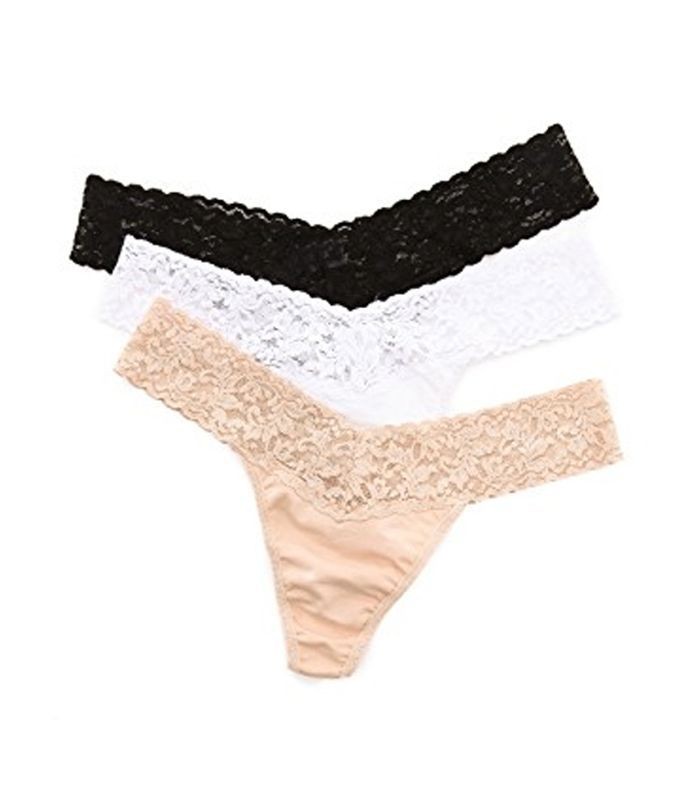 Low Rise Cotton Thong 3 Pack