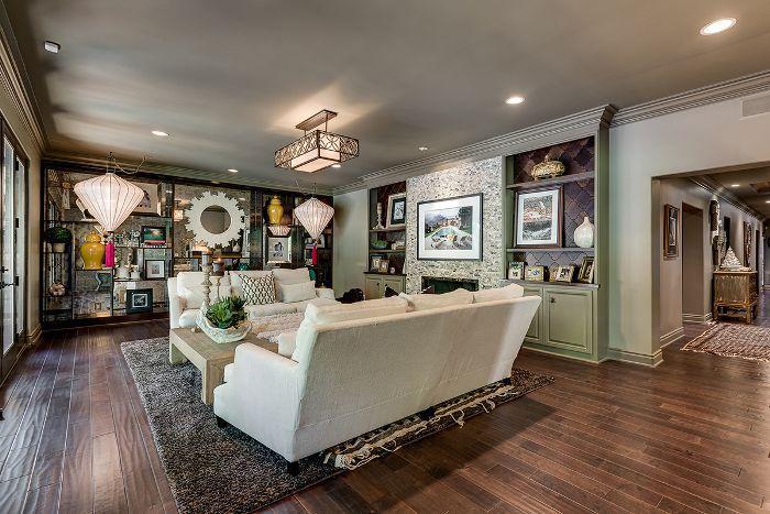 Visita a casa de Trish y Billy Ray Cyrus