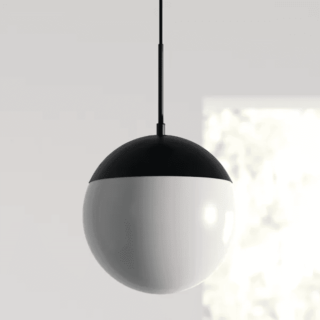 Yerby 1-Light Single Globe Pendant