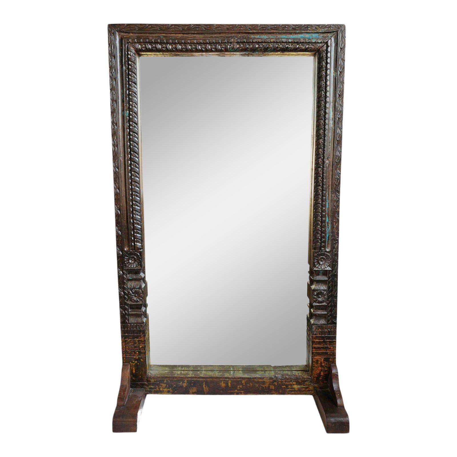 Espejo de pie vintage