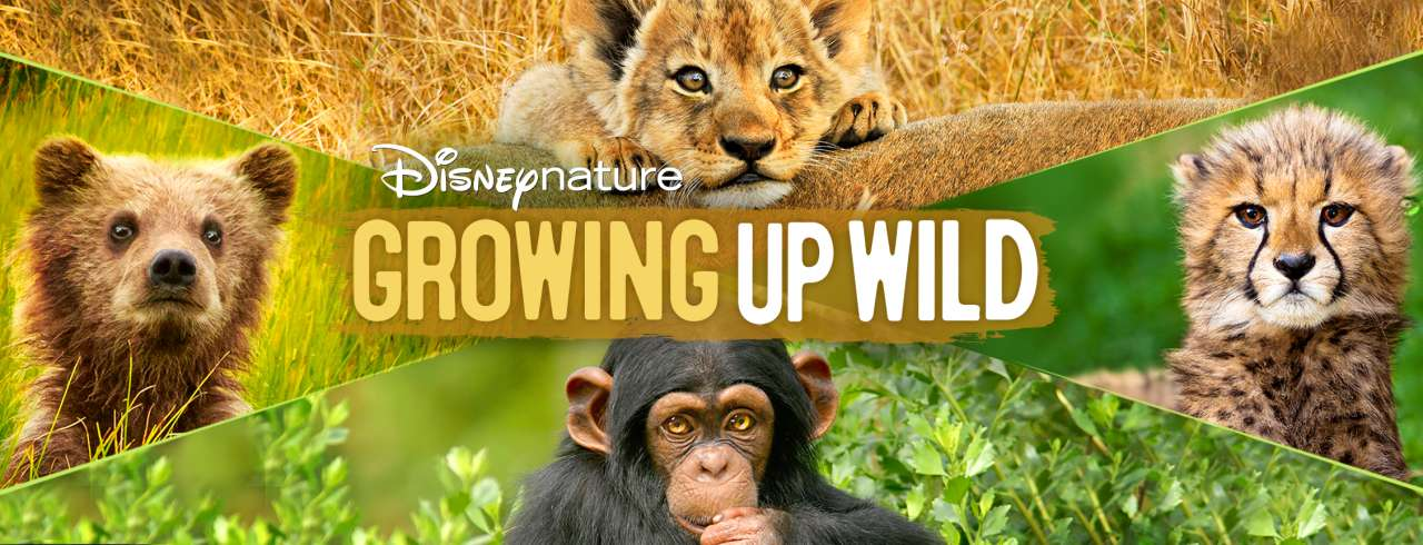 Growing Up Wild documentary poster