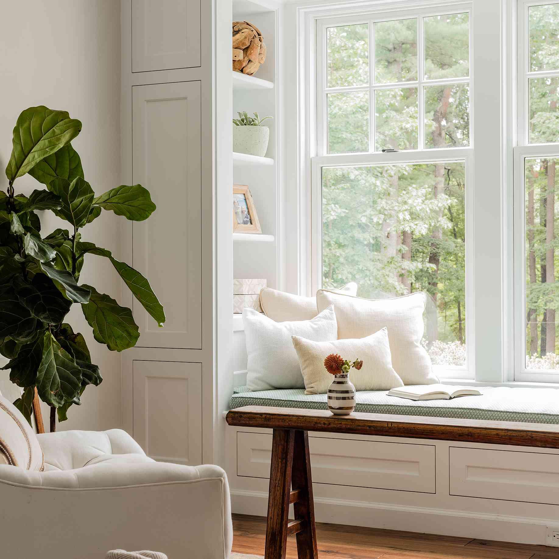 window seat bench with storage