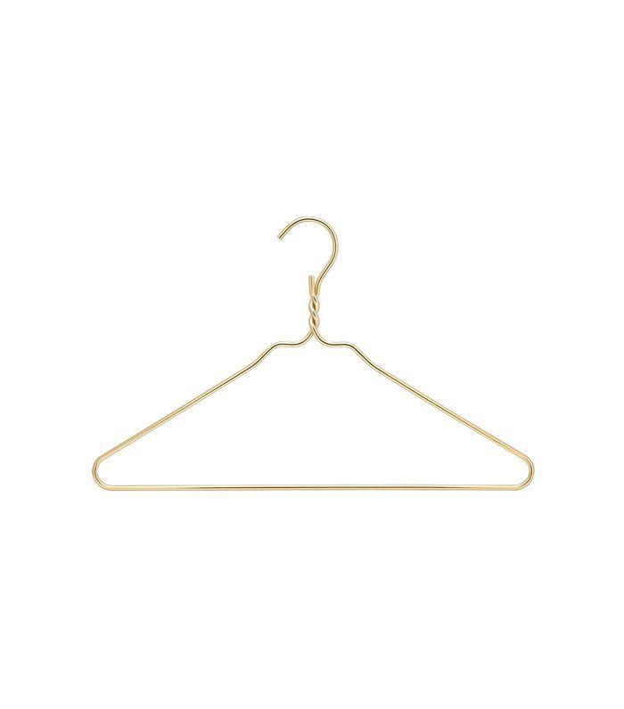 Gold Heavy Duty Hangers, Set of 10