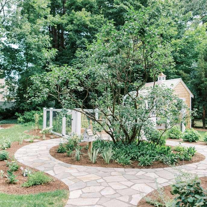 finding lovely garden walkway