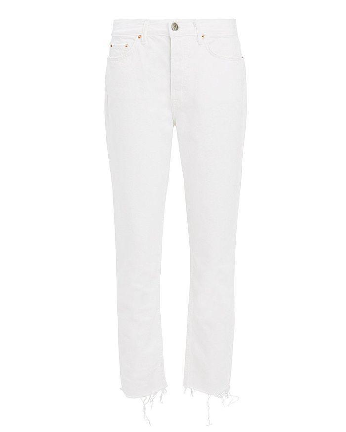 Karolina White Skinny Jeans White 25