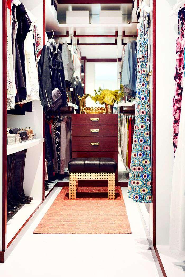 Jaime King's closet
