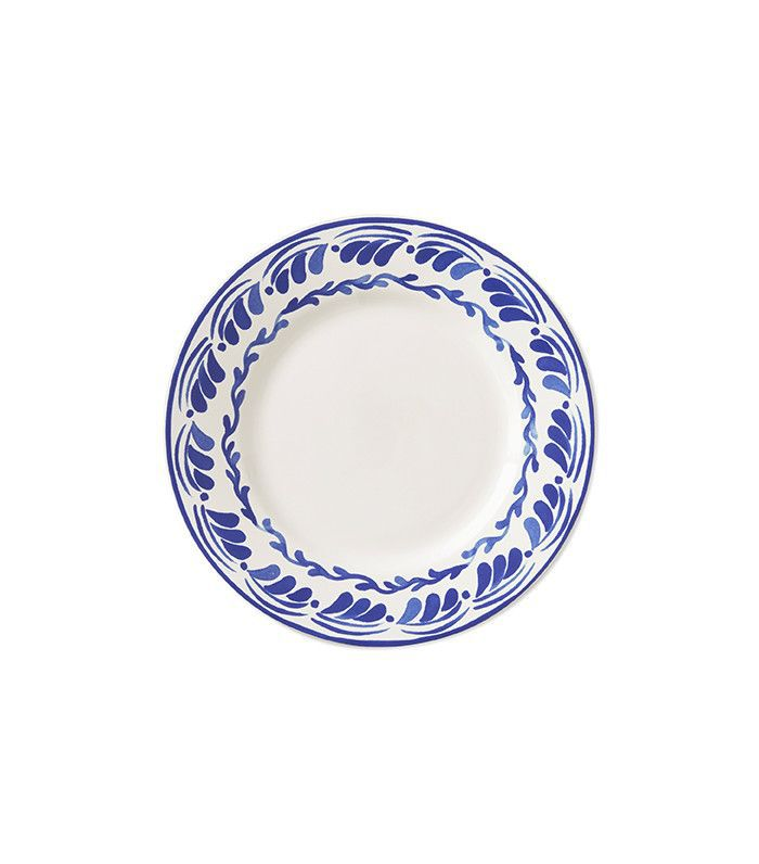 Aerin for Williams-Sonoma Sea Blue Floral Dinner Plates