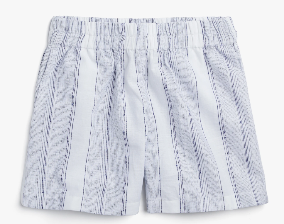 Madewell x Parachute oversized pajama shorts