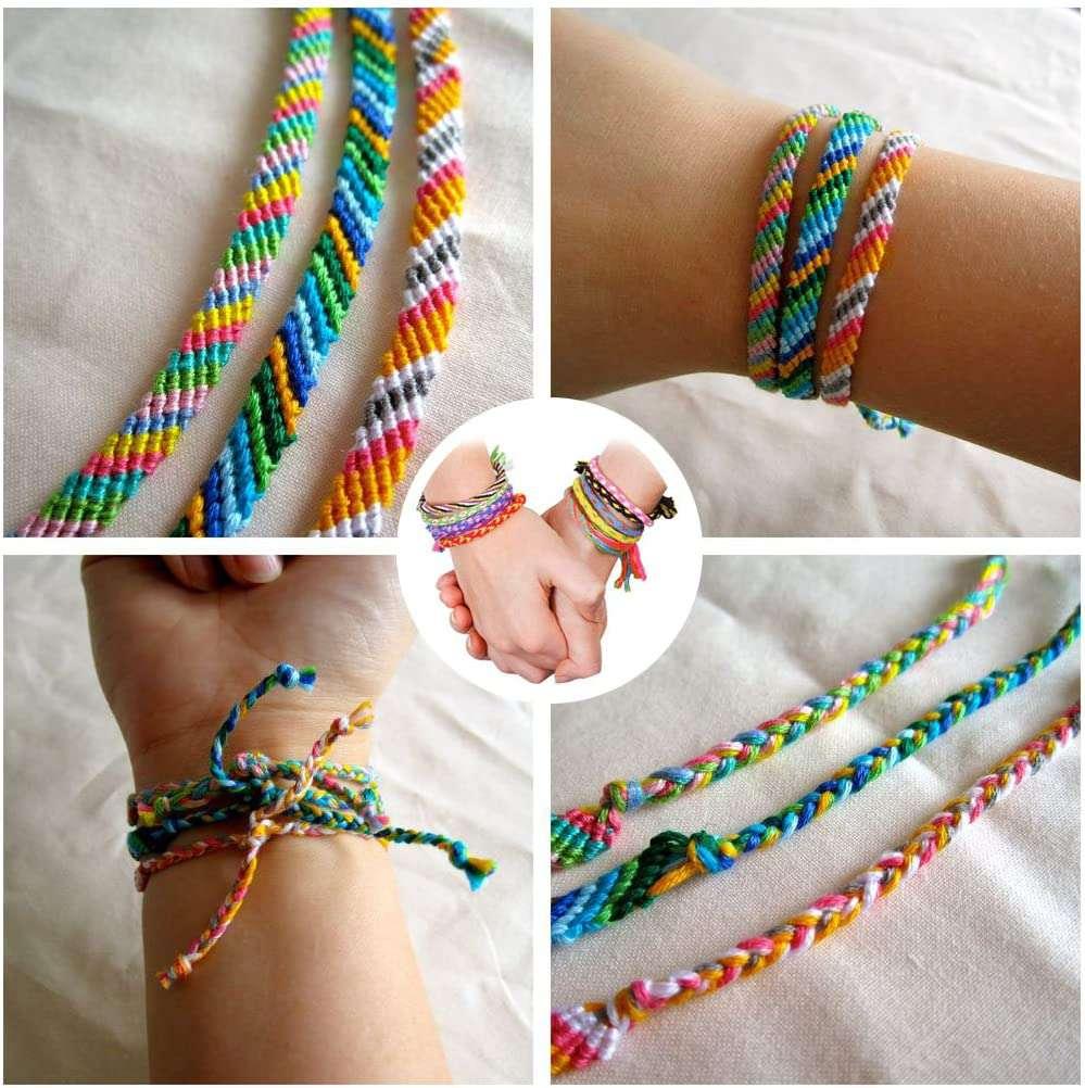 iShyan Emboridery Floss Friendship Bracelet String