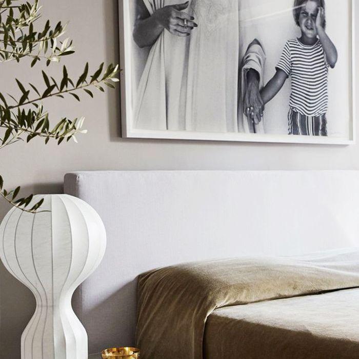 İskandinav tasarımlı yatak odası