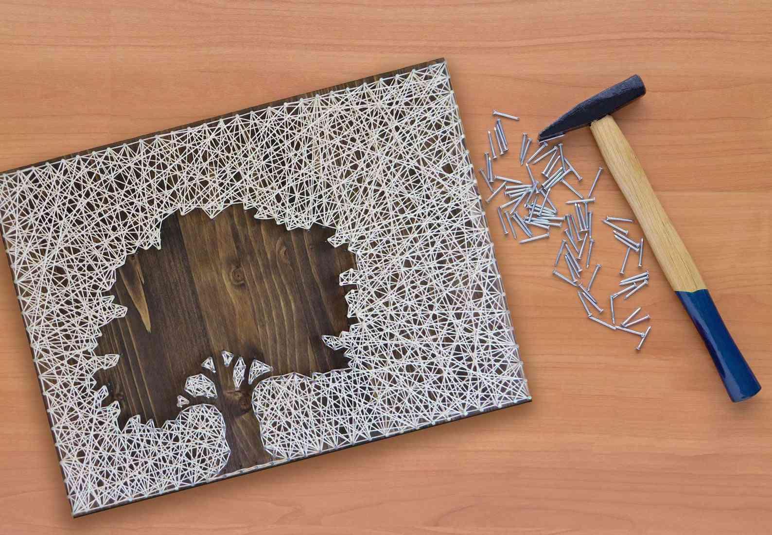 Oak Tree String Art Kit