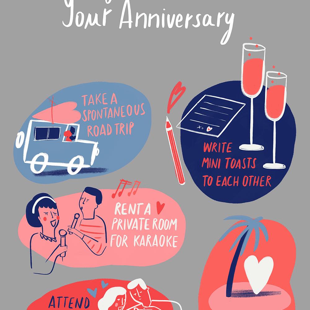 Fun Ways to Celebrate Your Anniversary