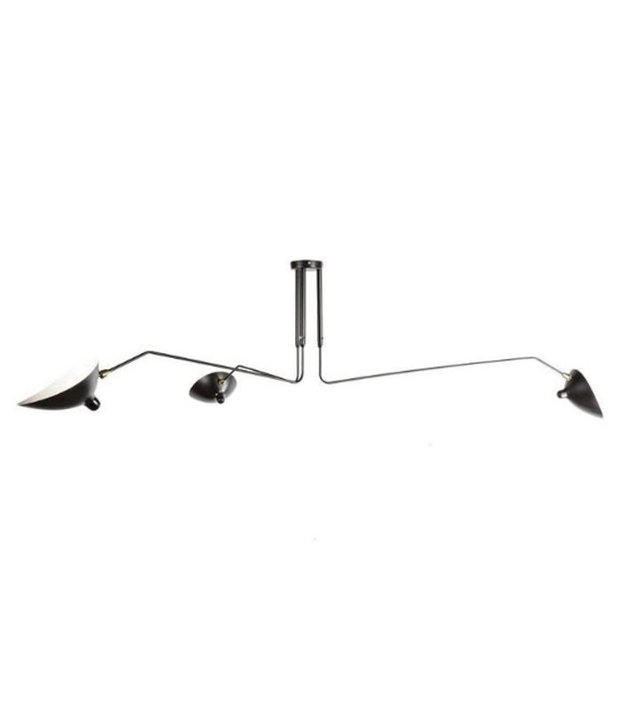 France & Son Three-Arm MCL-R3 Ceiling Lamp
