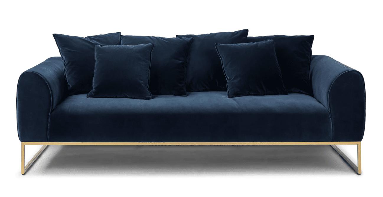 Kits Sofa in Cascadia Blue