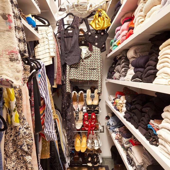 Jessica Schuster Home Tour—Walk in Closet