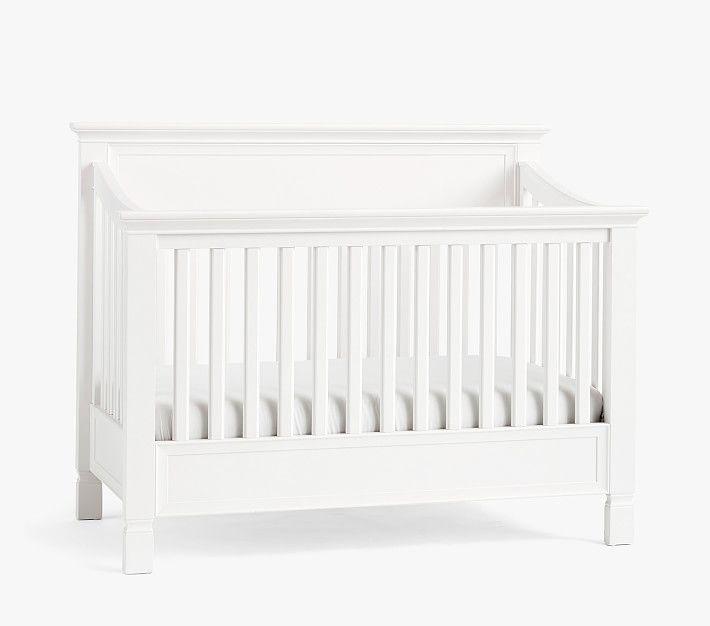 Larkin 4-In-1 Convertible Crib, Simply White