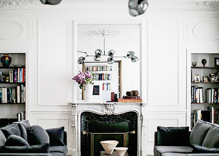 interesting french style living room | 12 French-Style Living Room Ideas Stolen Straight From Paris