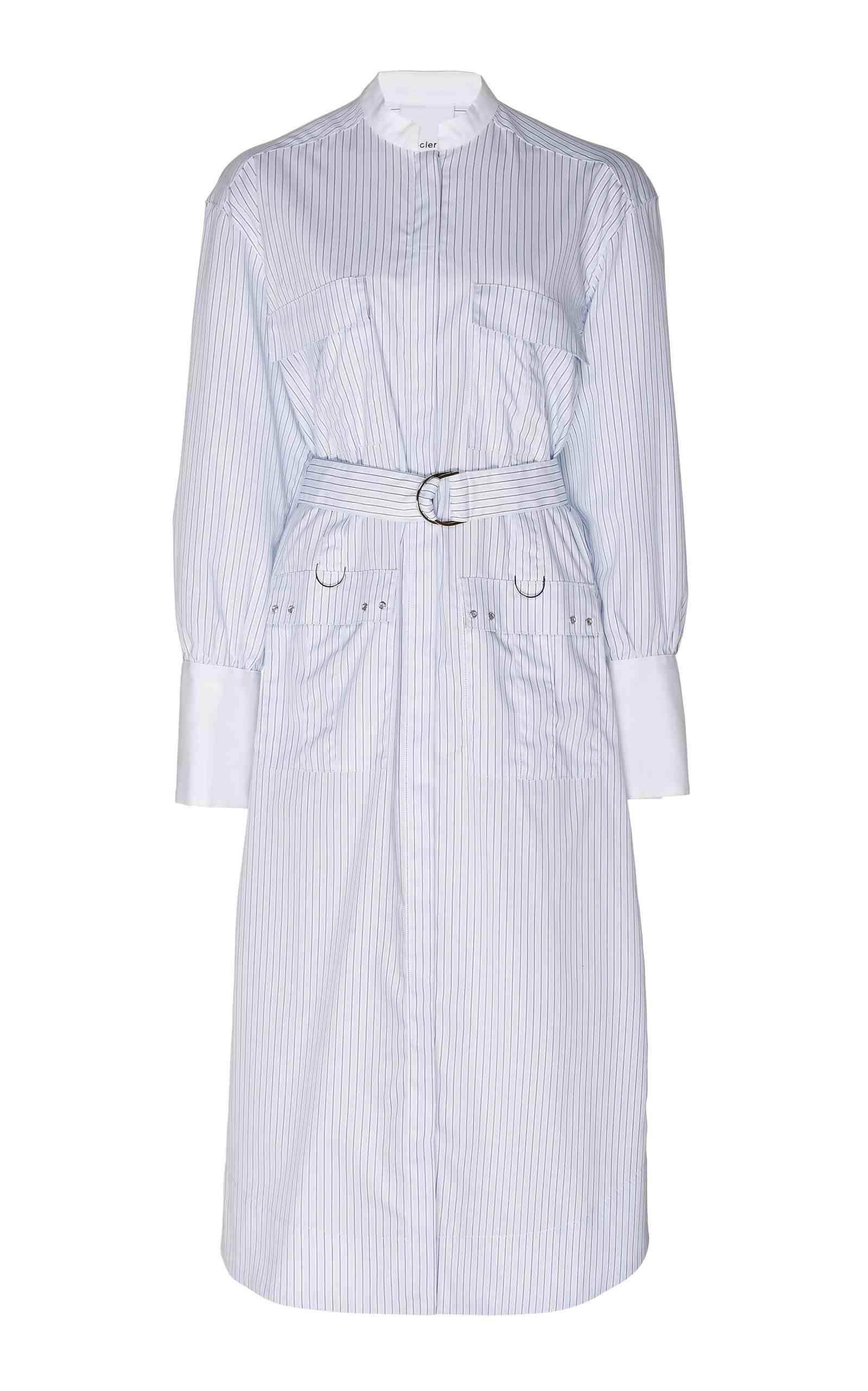 Edwin Belted Shirt Dress