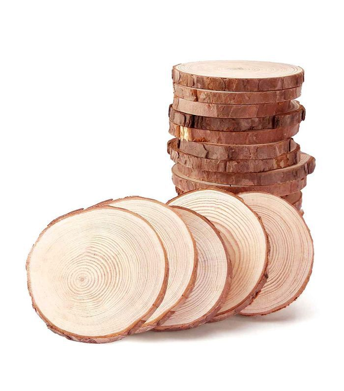 Maiyuan Wood Slices for Coasters Amazon Thanksgiving Decor