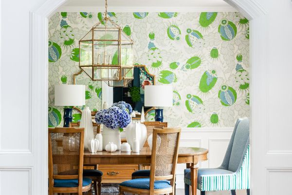 Makeover of the Week - Dina Holland Dining Room Before and After