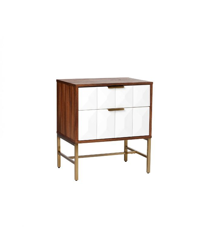 Nate Berkus for Target 2 Drawer Studded Nightstand