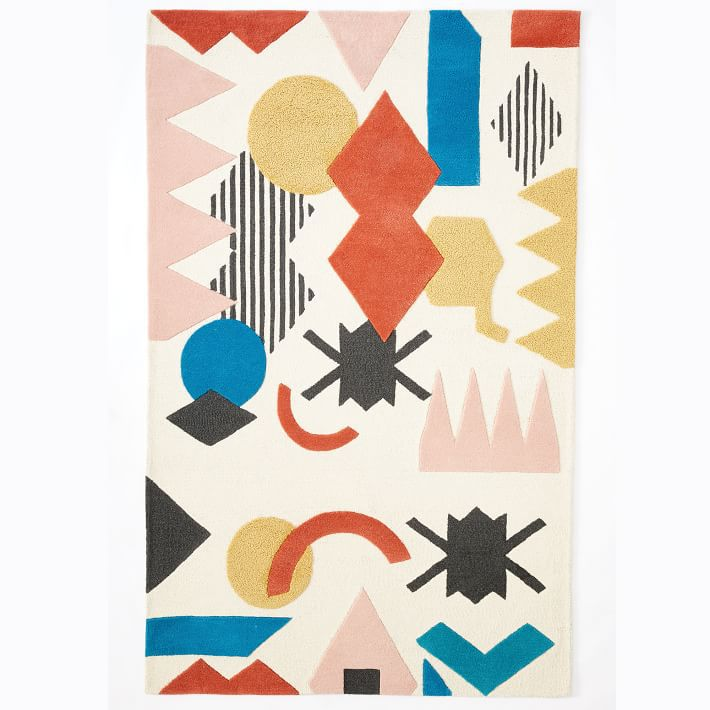 Shapes Collage Rug