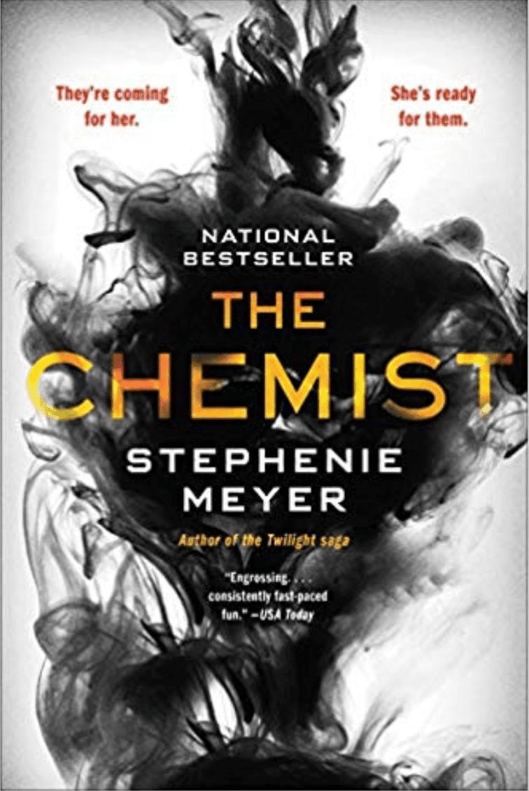 The Chemist by Stephenie Meyer book cover