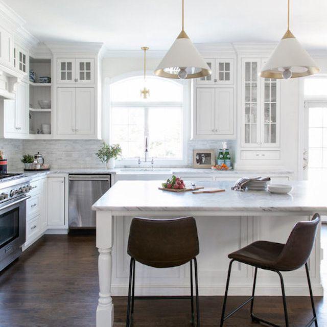 metal accents kitchen design