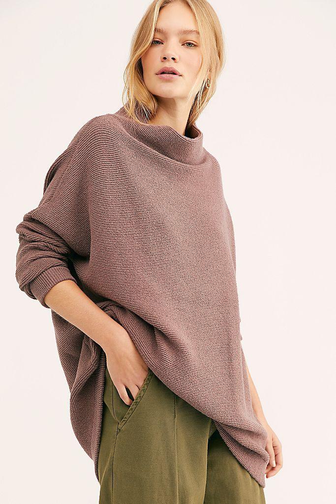 suéter holgado