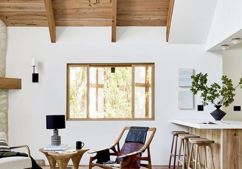 emily henderson rustic living room