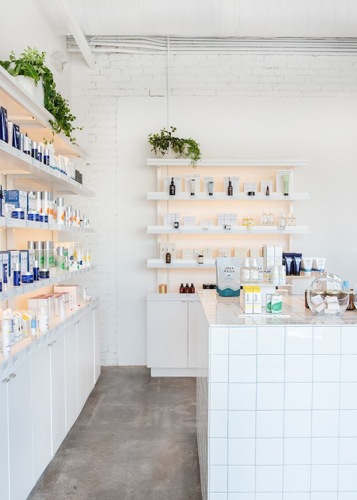 Heyday Los Angles product shelves