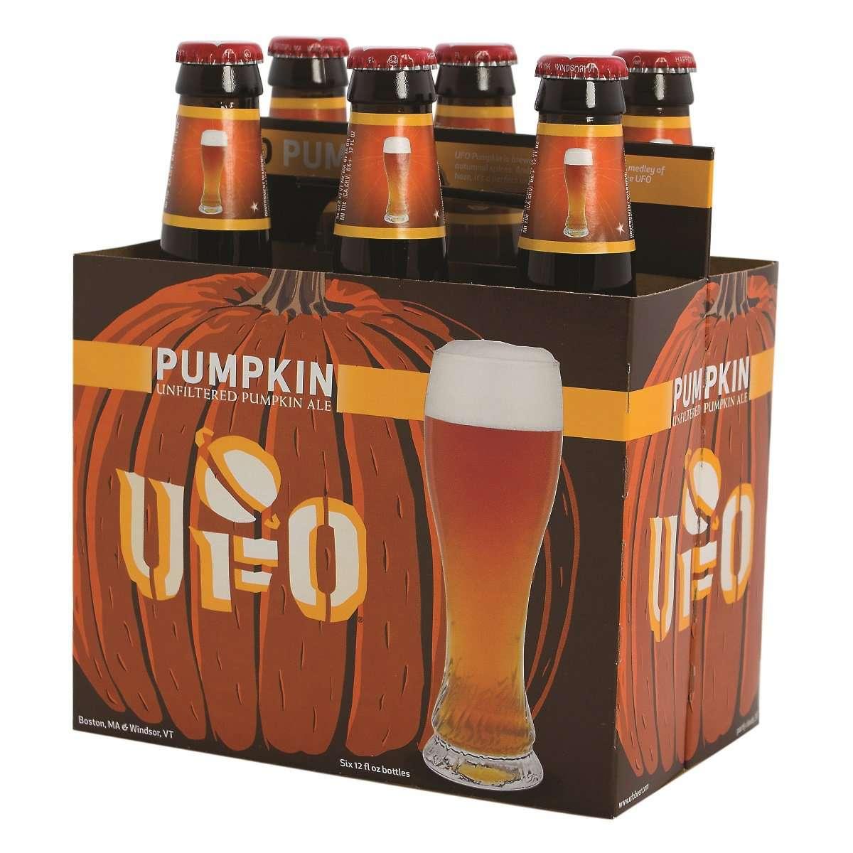 A pack of pumpkin beers.