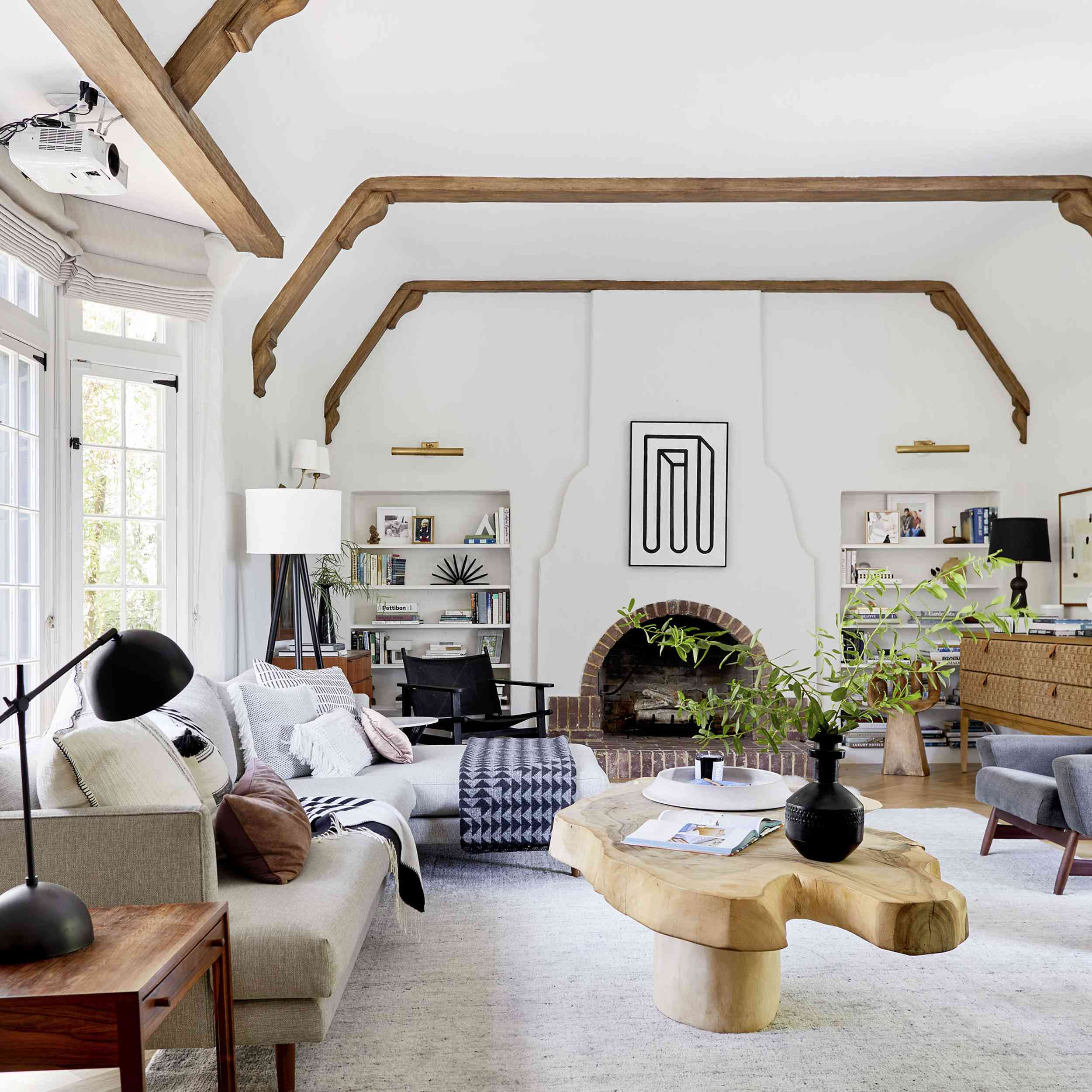 12+ Mid Century Modern Farmhouse Living Room