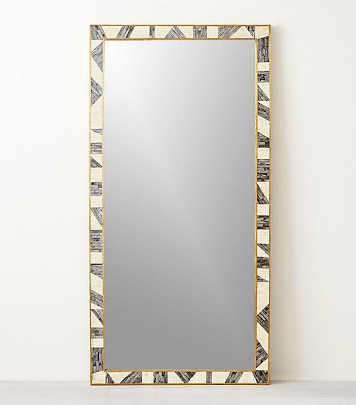 Grace Bone Inlay Floor Mirror 36