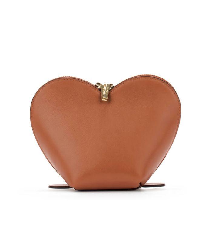 Cuyana Heart Cosmetics Case