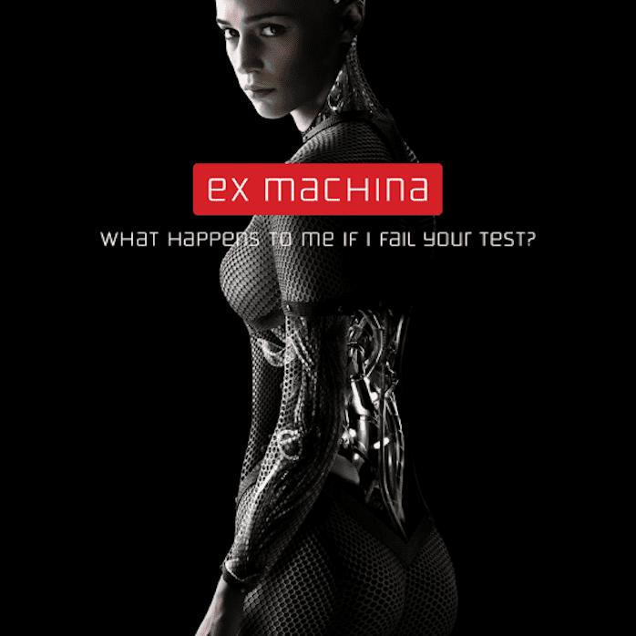 Ex Machina movie poster.