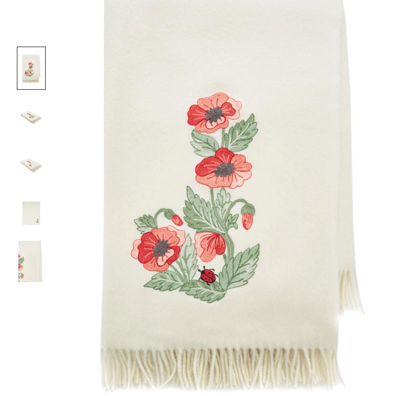 Poppies blanket