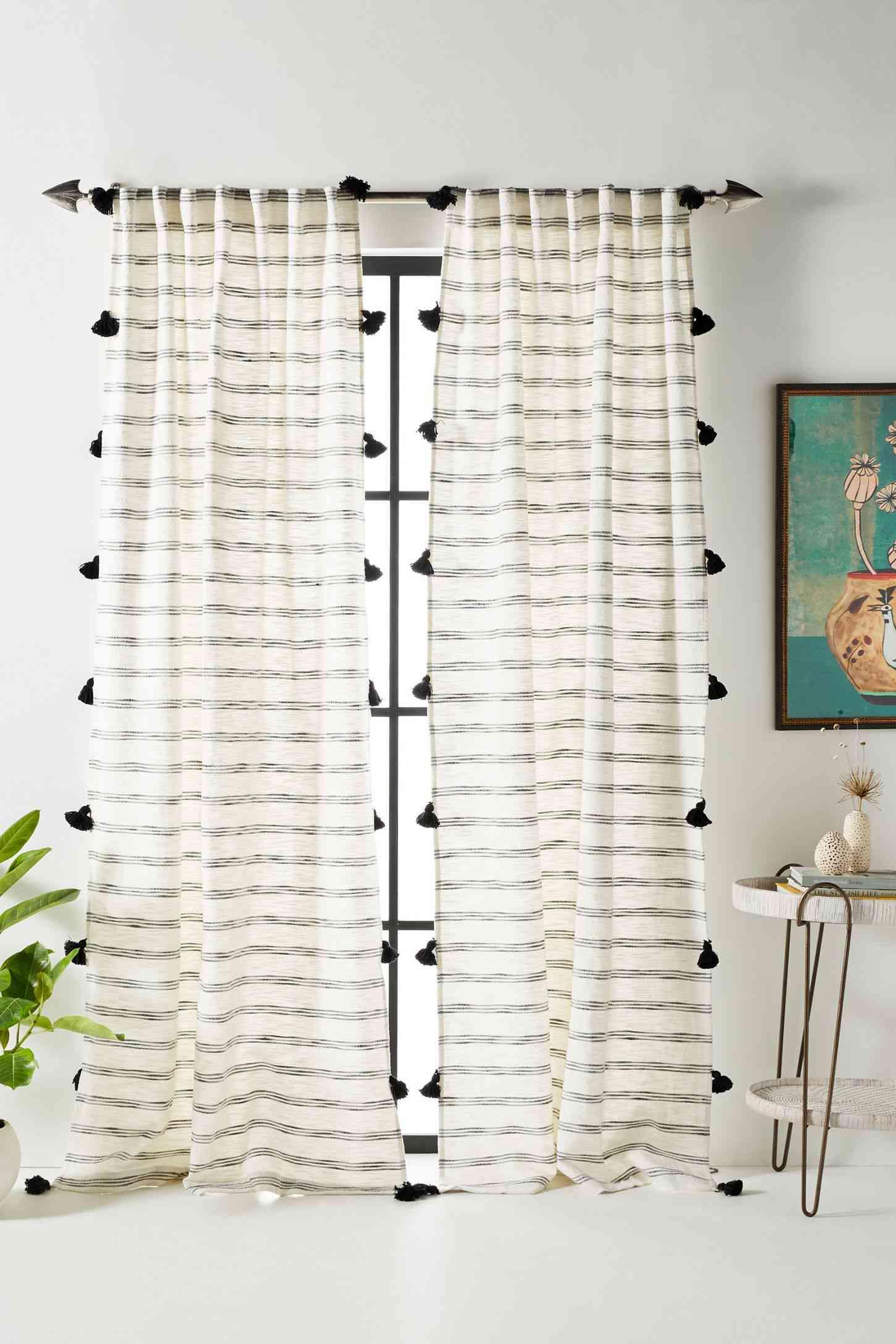 Tasseled Rio Curtain