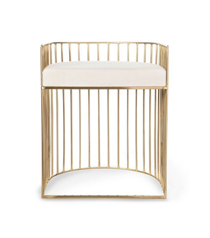 Nate Berkus for Target Metal Caged Accent Stool