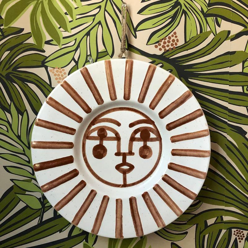 Jungalow Ayo Ceramic Wall Hanging by Justina Blakeney