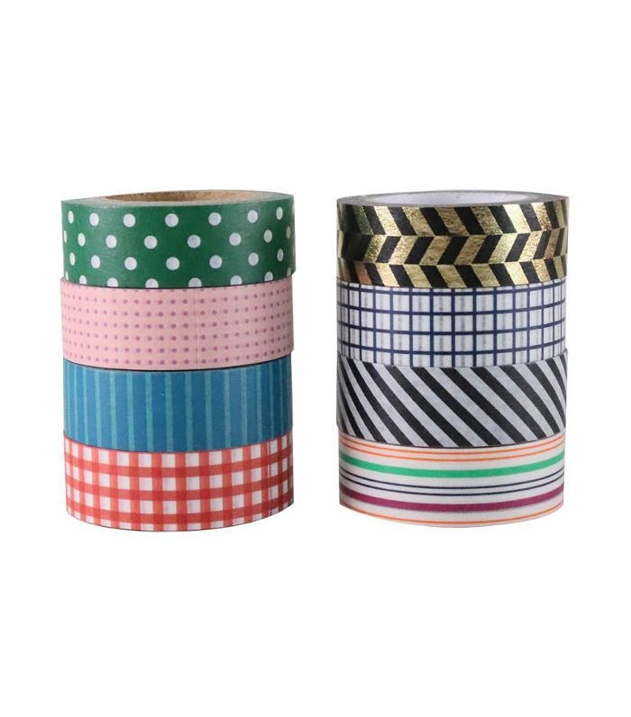 Washi Tape Classic Patterns Holiday Party Ideas
