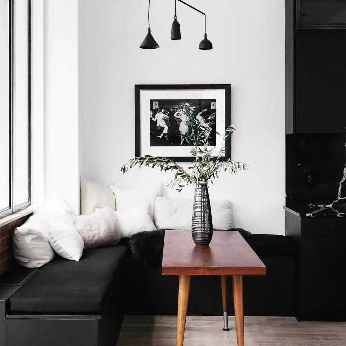 Black and White Home Tour