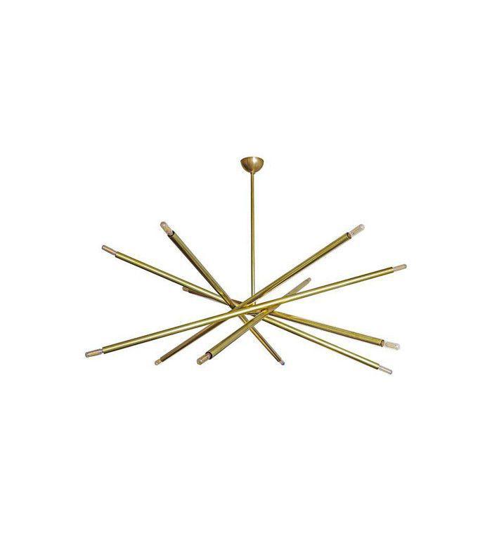 Chairish Spiral Large Six-Arm Chandelier