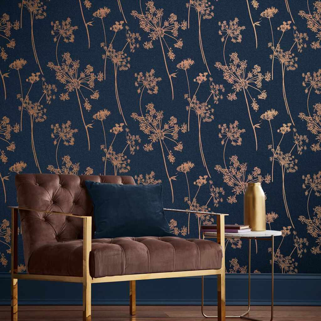 Floral wallpaper, currently for sale at Graham & Brown