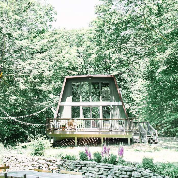 Inside a Dreamy Catskills Cabin You Can Actually Rent