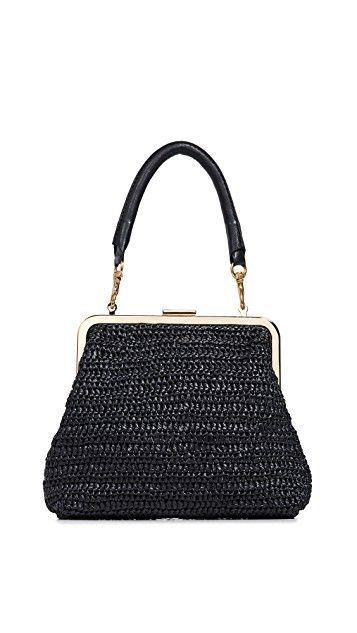 Clare V. Flore Woven Bag