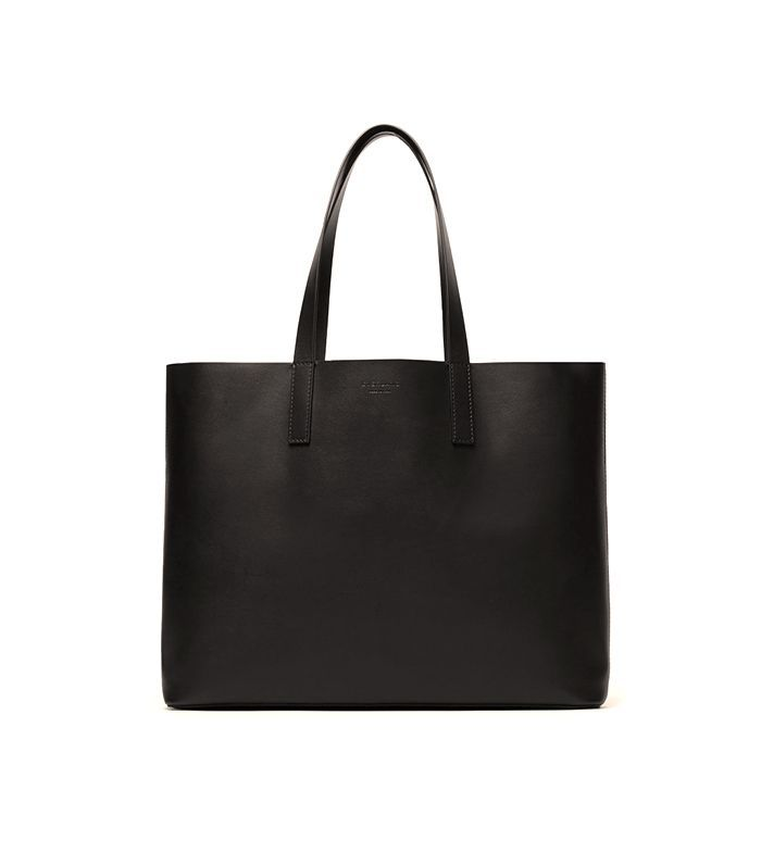 Women's Leather Market Tote Bag by Everlane in Black